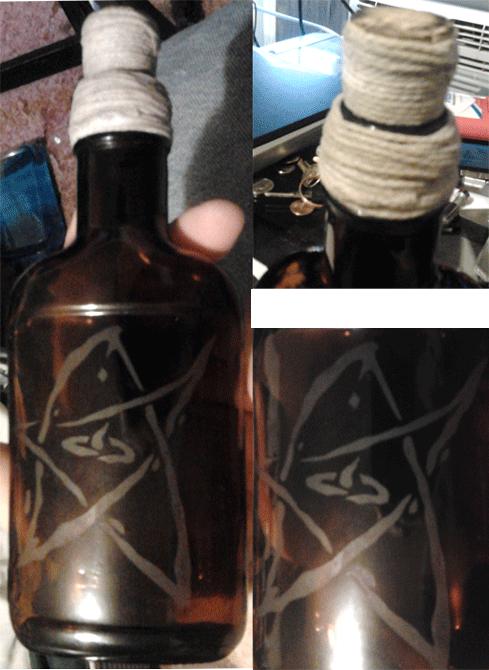 Elder Sign Bottle
