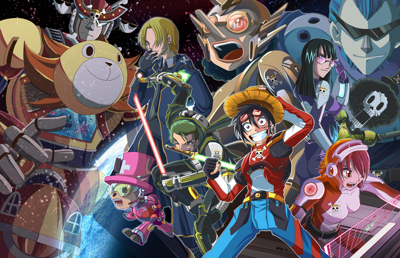 Super Robot One PIece
