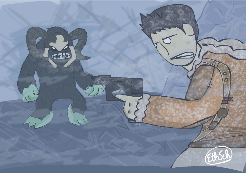 Uncharted 2: Yeti