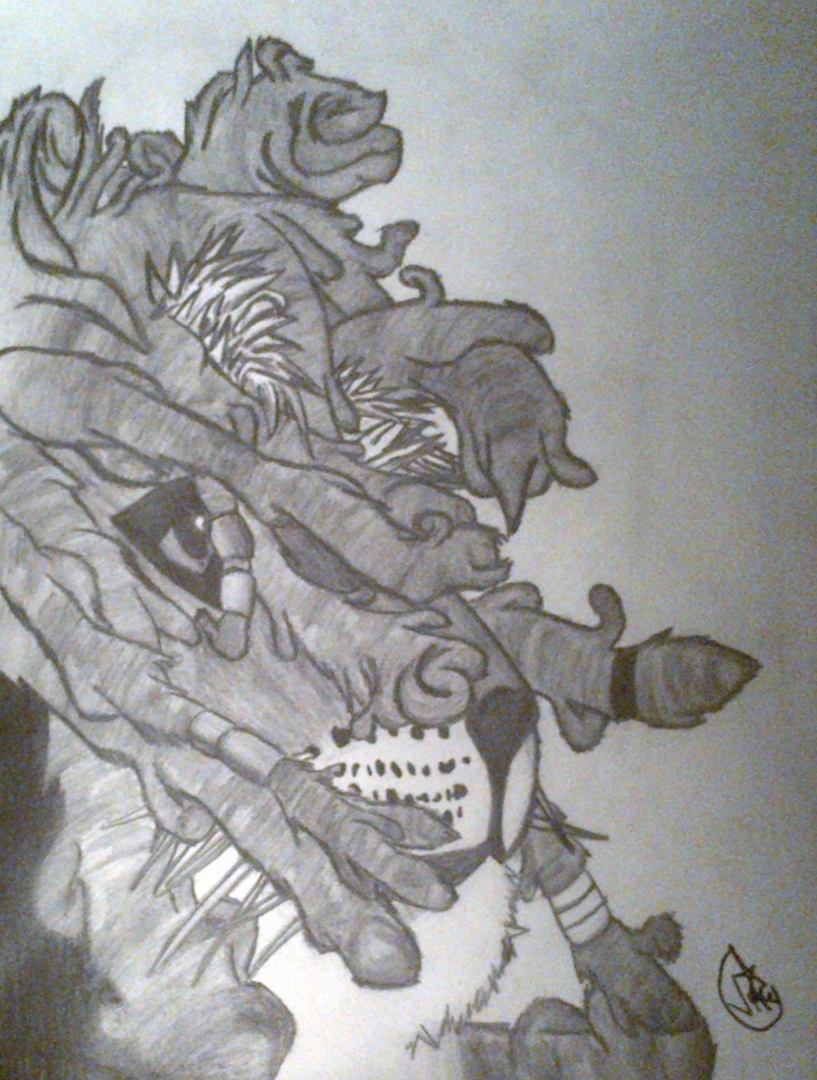 Tiger Dreads