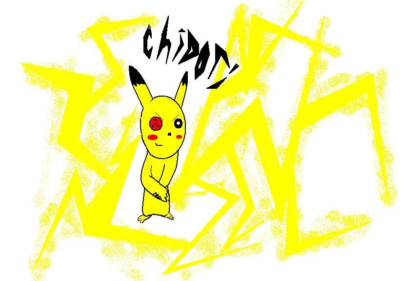 Pikachu's chidori