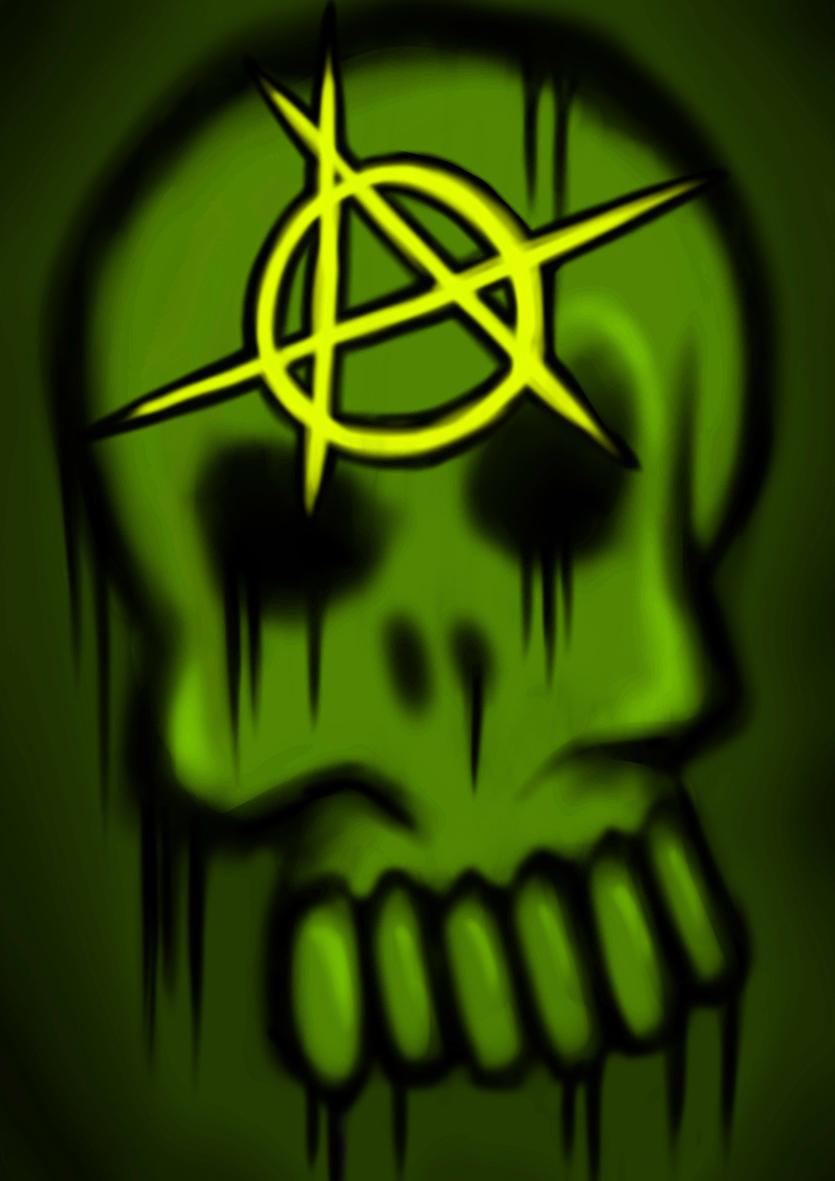 Anarchy skull