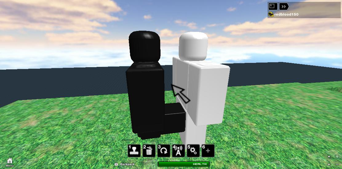 Roblox - Kicked in the balls