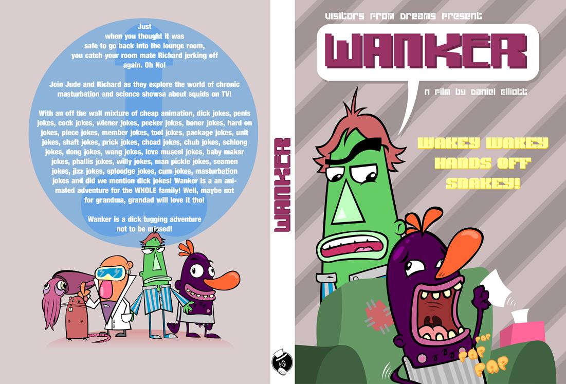 Wanker DVD Slip Concept