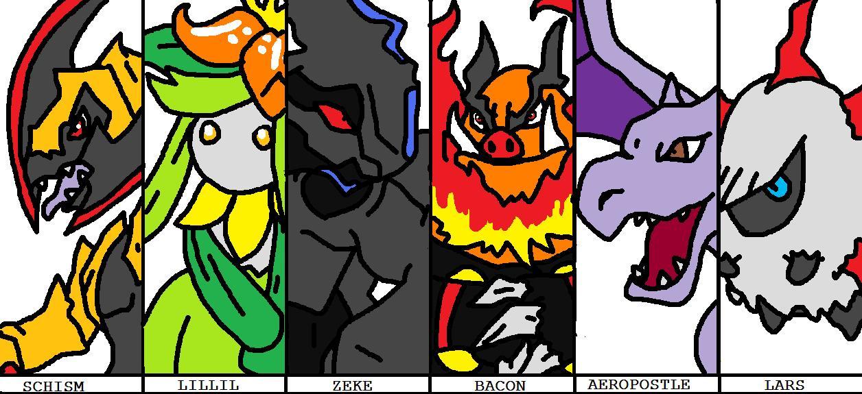 Pokemon Black Team