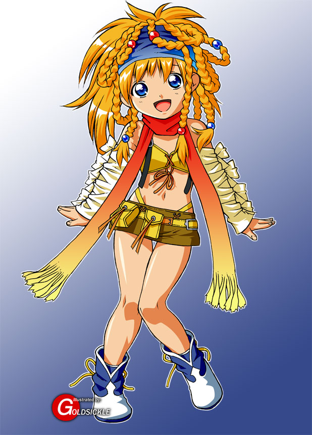 Roll Cosplaying as Rikku