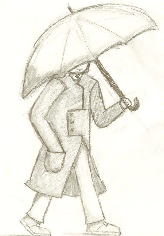 Umbrella Walking