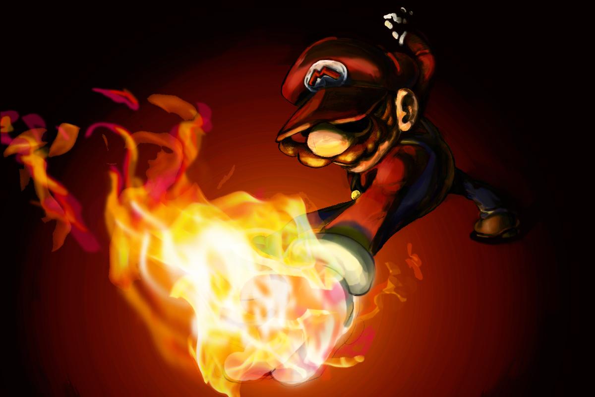 Fireball Mario