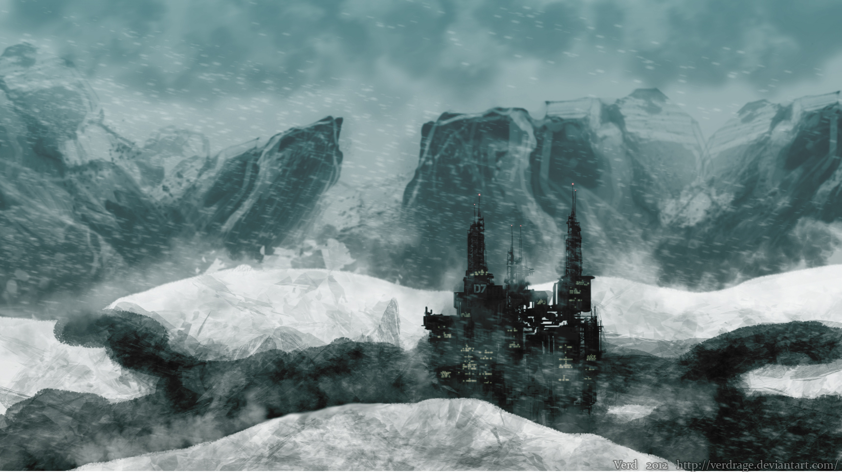 Arctic city