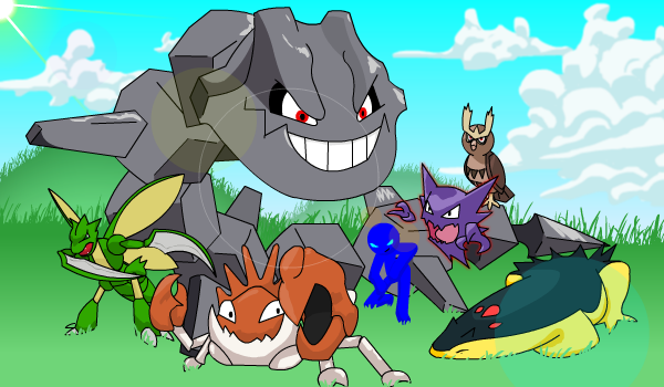 My team from HeartGold