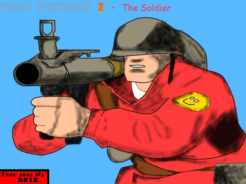 Team Fortress 2 - The soldier