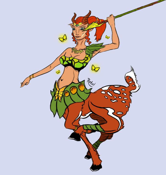 Echantress from dota 2