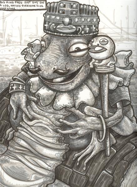 Big King Frog