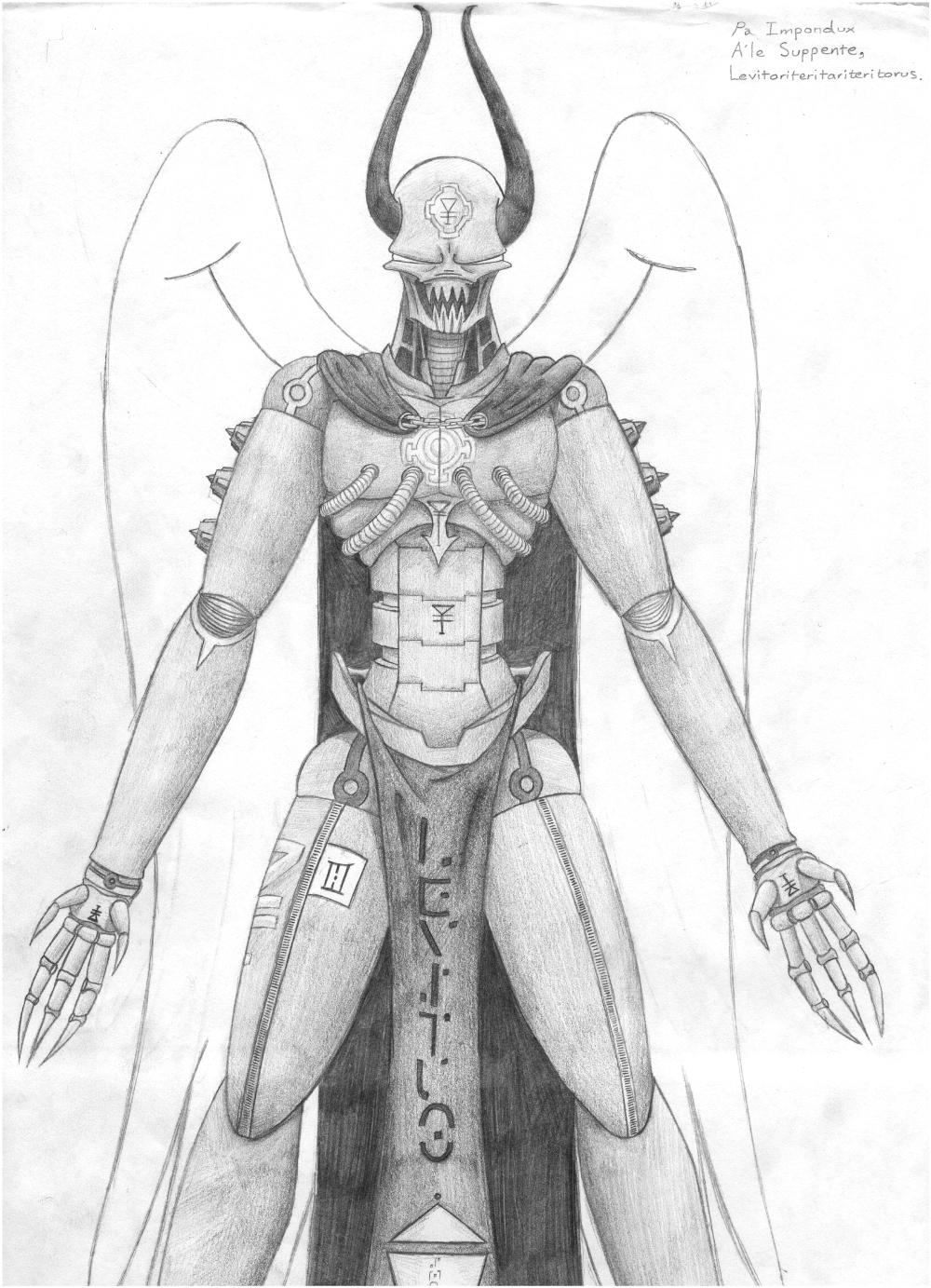 A'Le Levitus design drawing