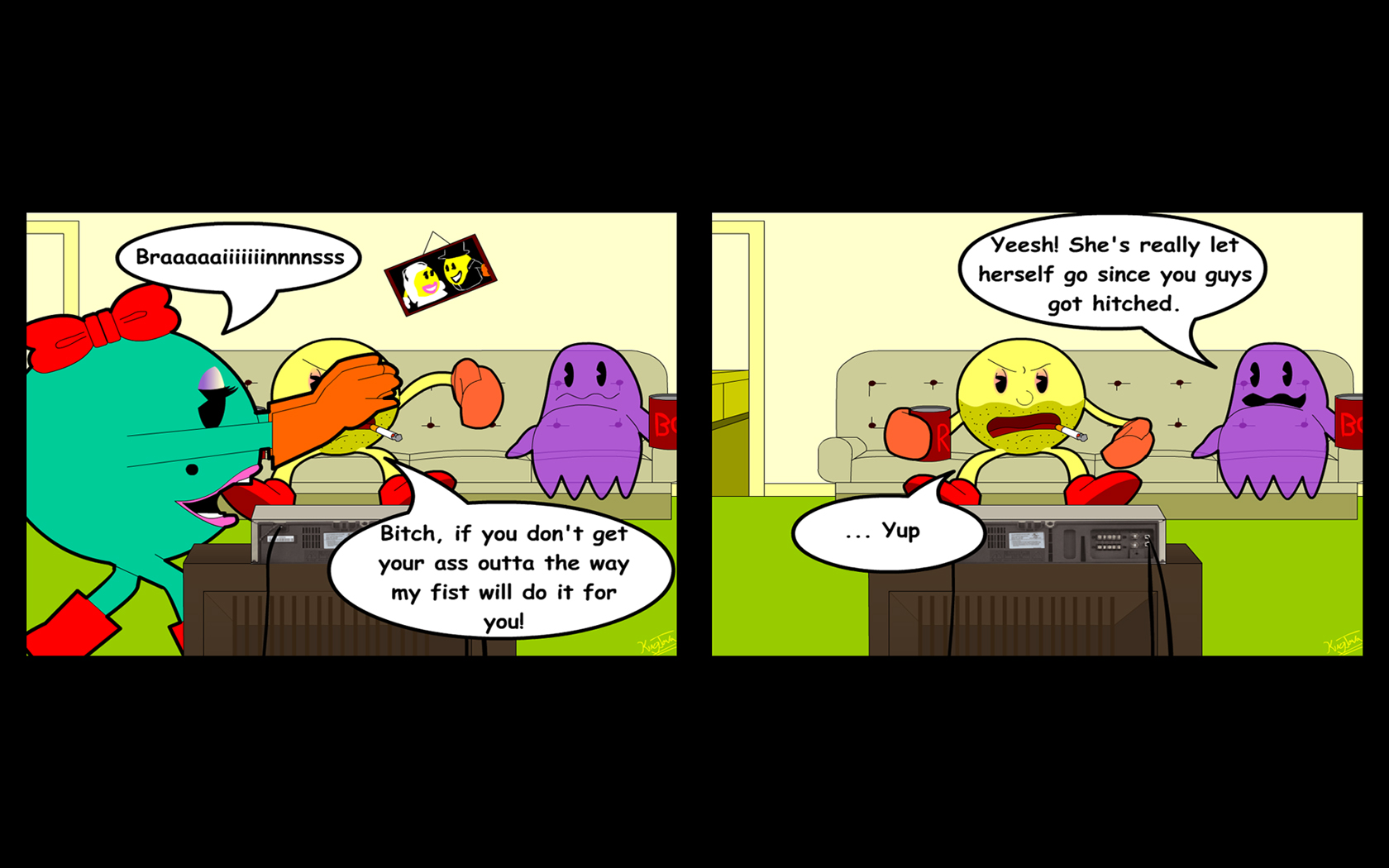 Mrs Zombie Pacman
