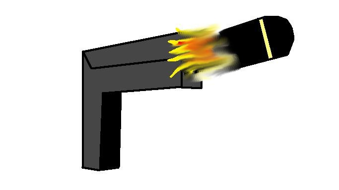 a picture of a gun i did