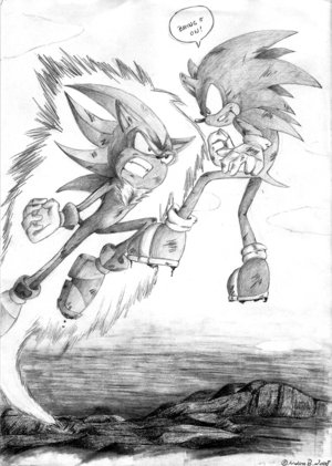 sonic vs shadow by