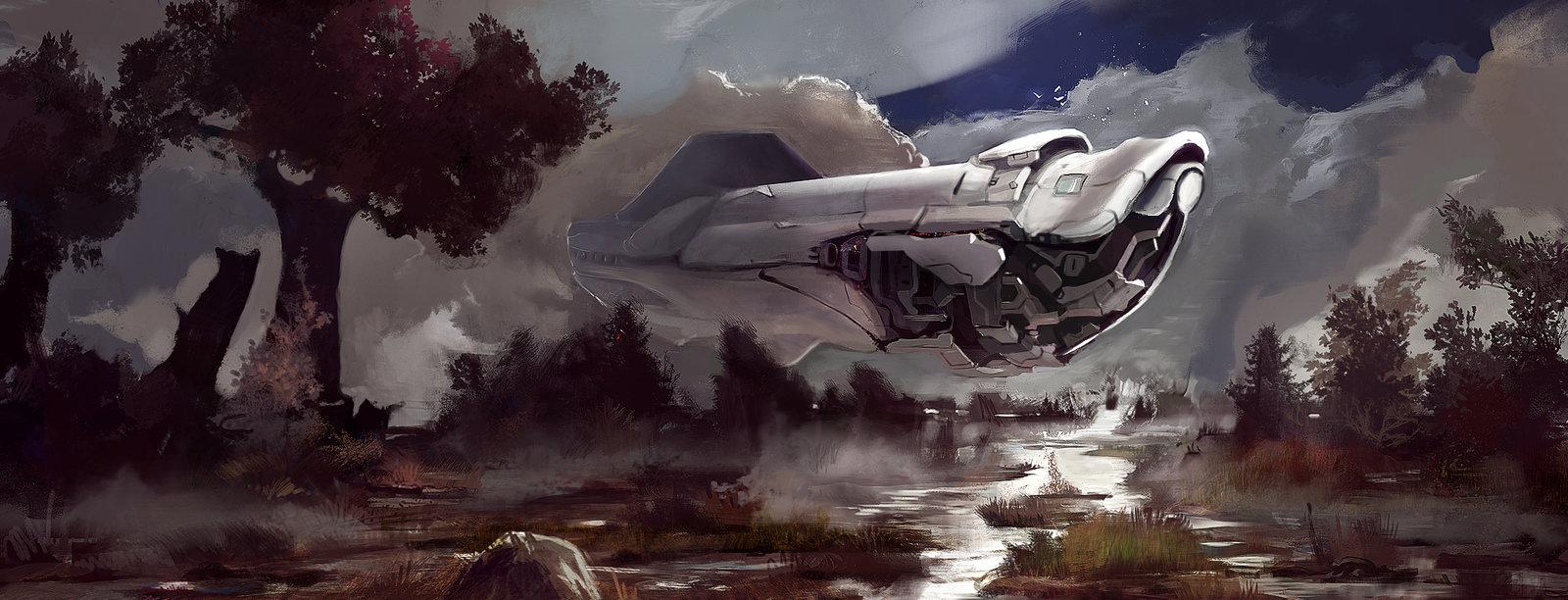 Spaceship comission