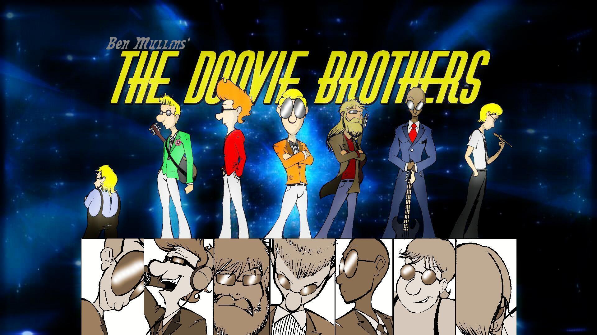 The Doovie Bros cartoon band