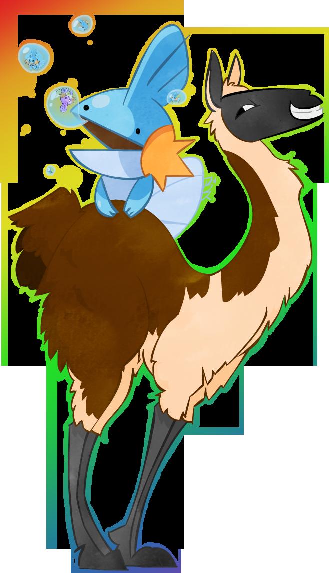 Obnoxious Llama: Mudkips