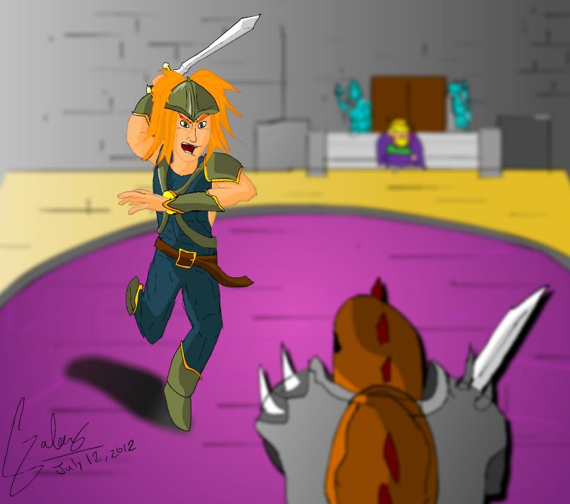 Duran, Mercenary of Valsena
