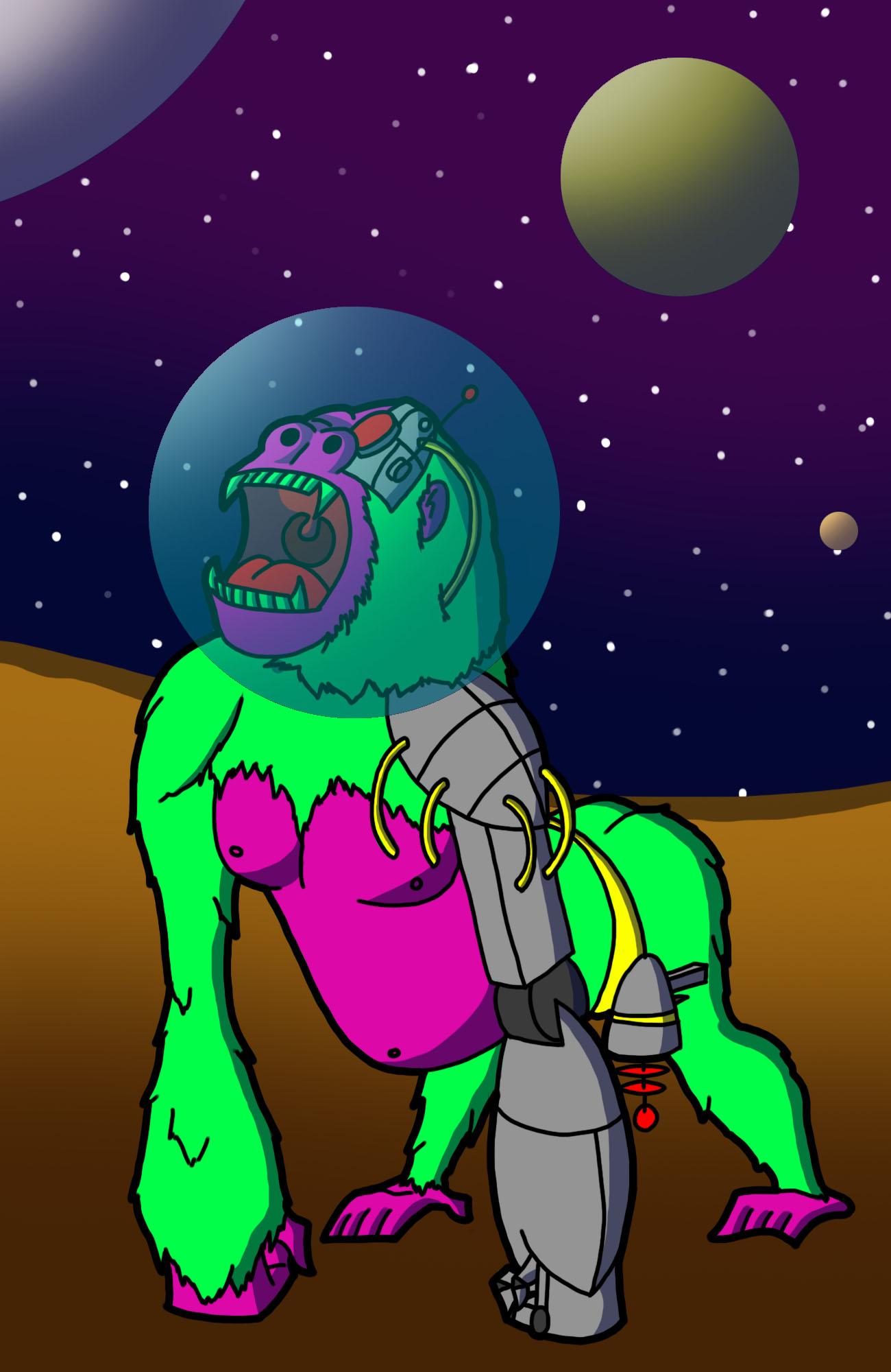 Spacegorilla