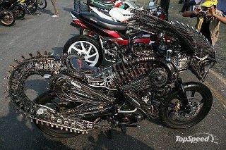 Alien rider
