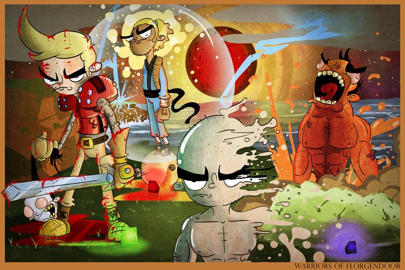 Warriors of Flogendoor 2012