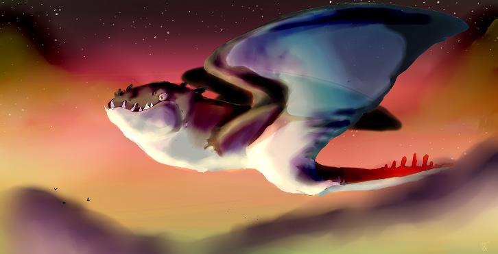 Skywhale Sunset