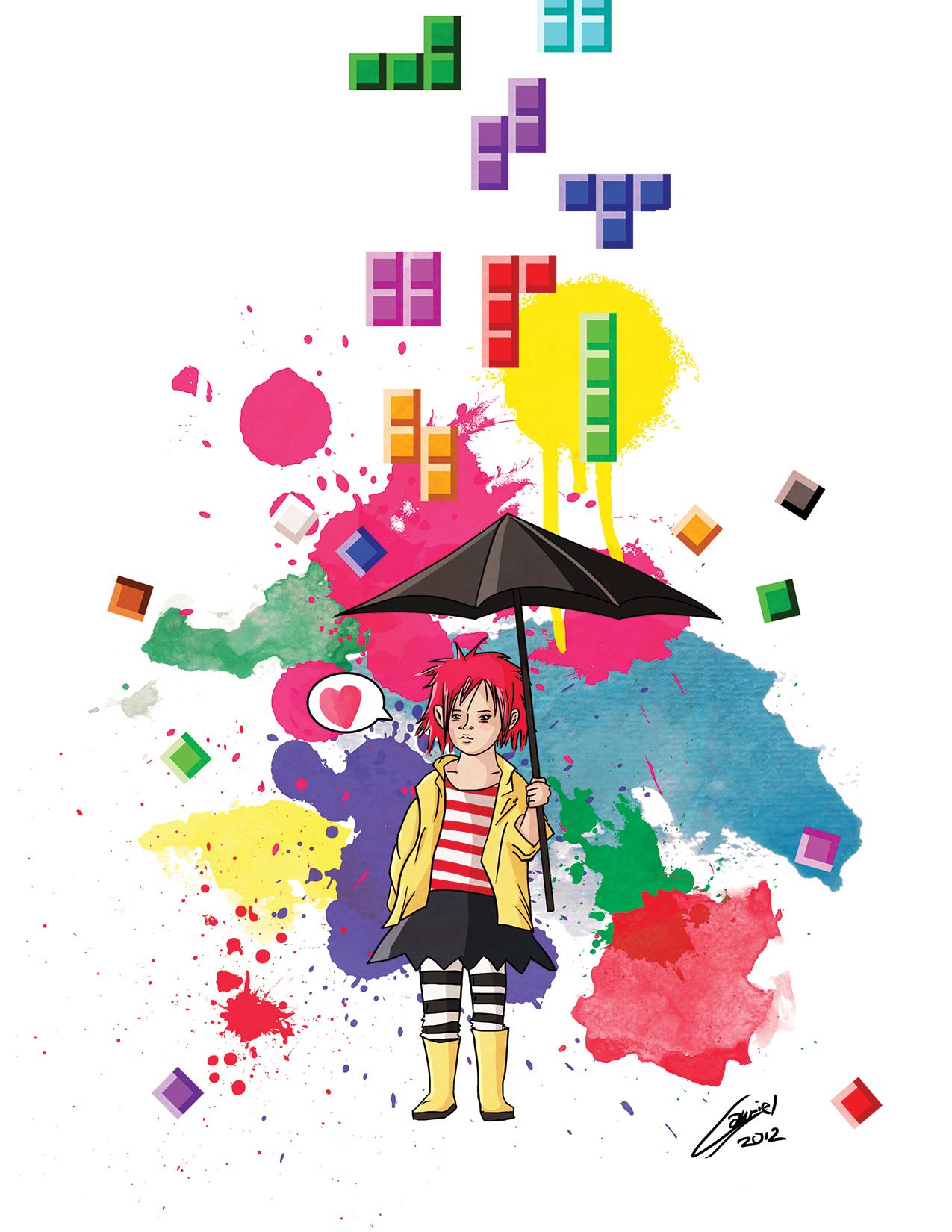 Tetris Girl