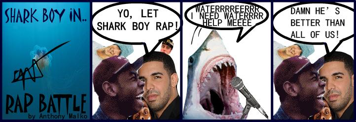 Shark Boy #1: Rap Battle