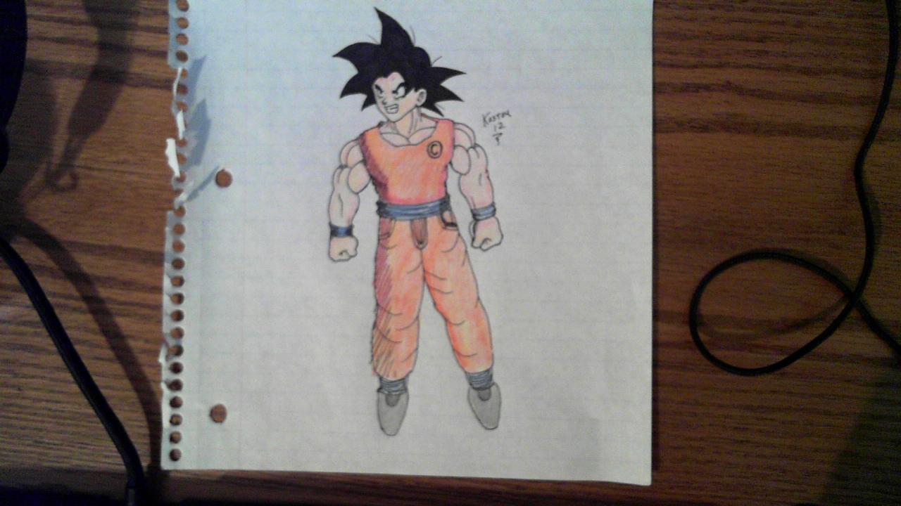 Paper Goku #1