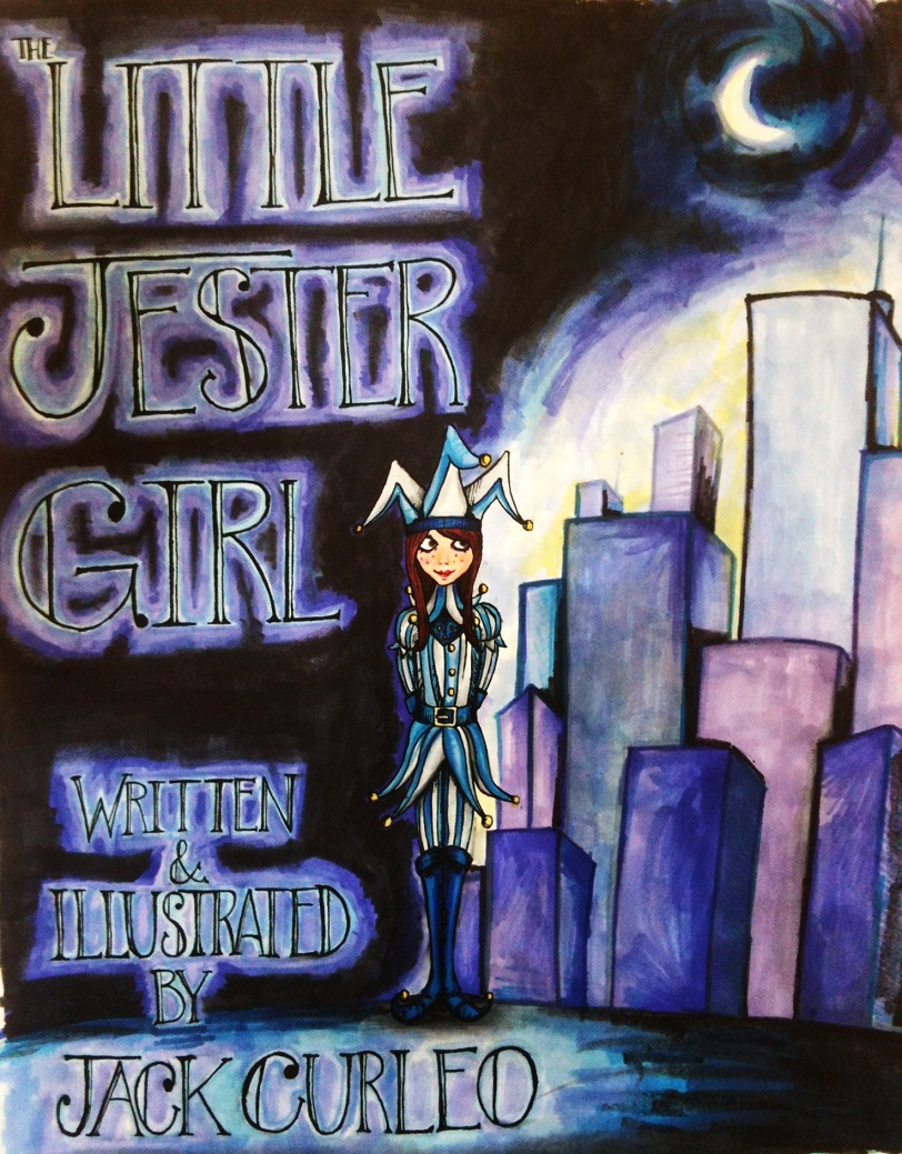 The Little Jester Girl.