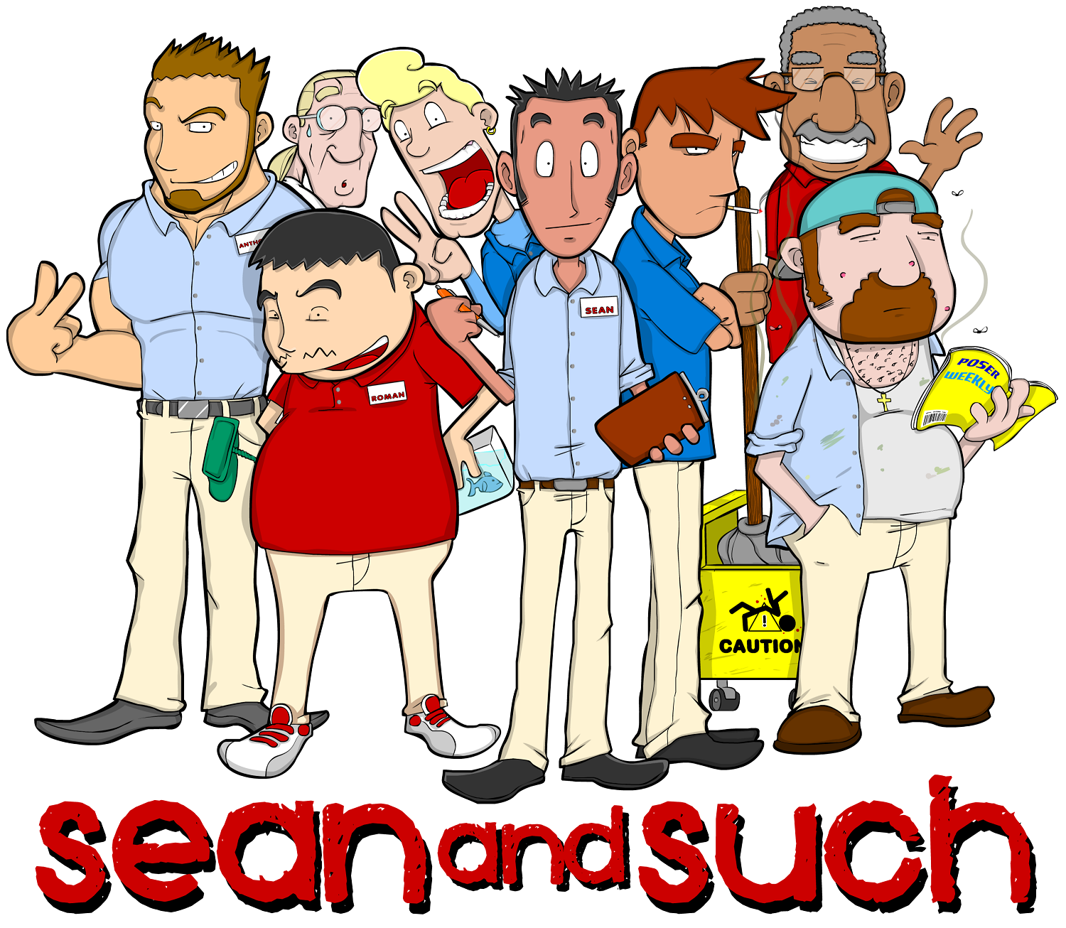 Sean and Such Group Promo
