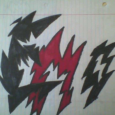 EMO (spiked font)