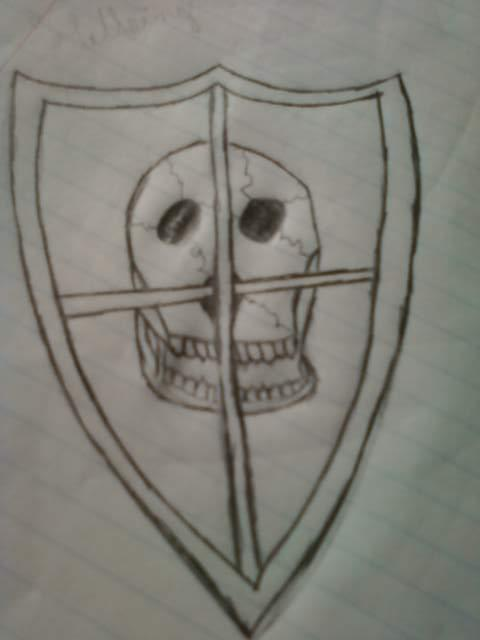 Skull and Shield