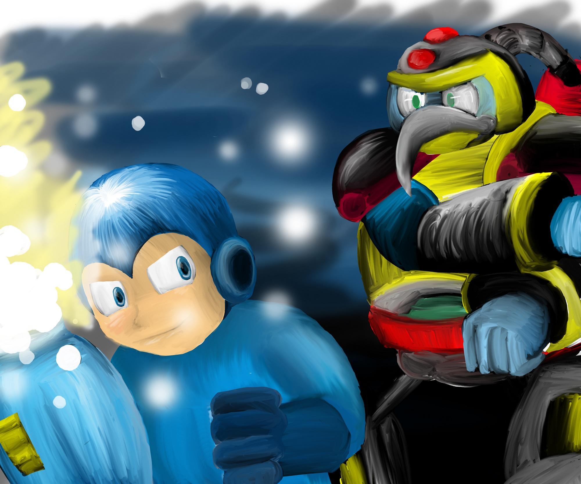 Megaman- Chill Penguin