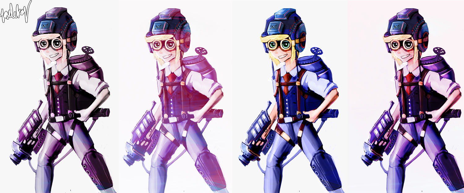 Steampunk Scott-Falco Concept
