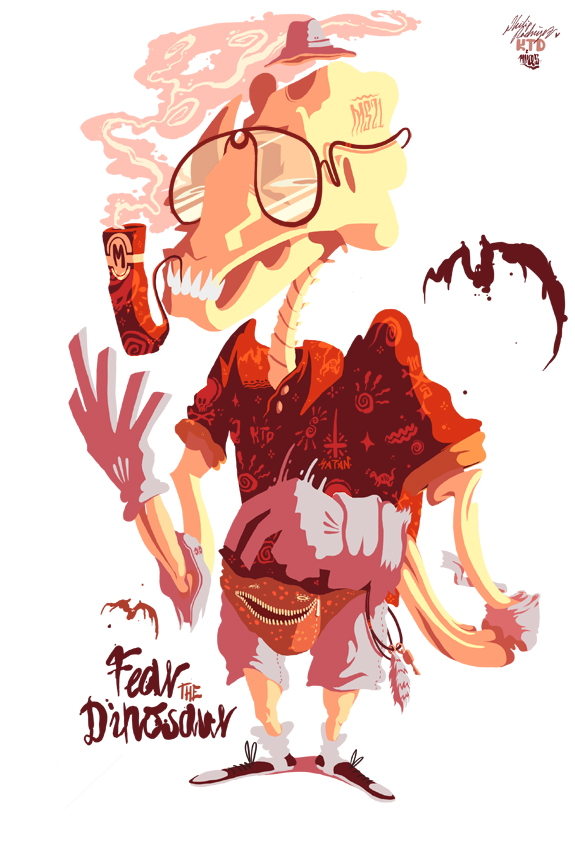 Fear the Dinosaur