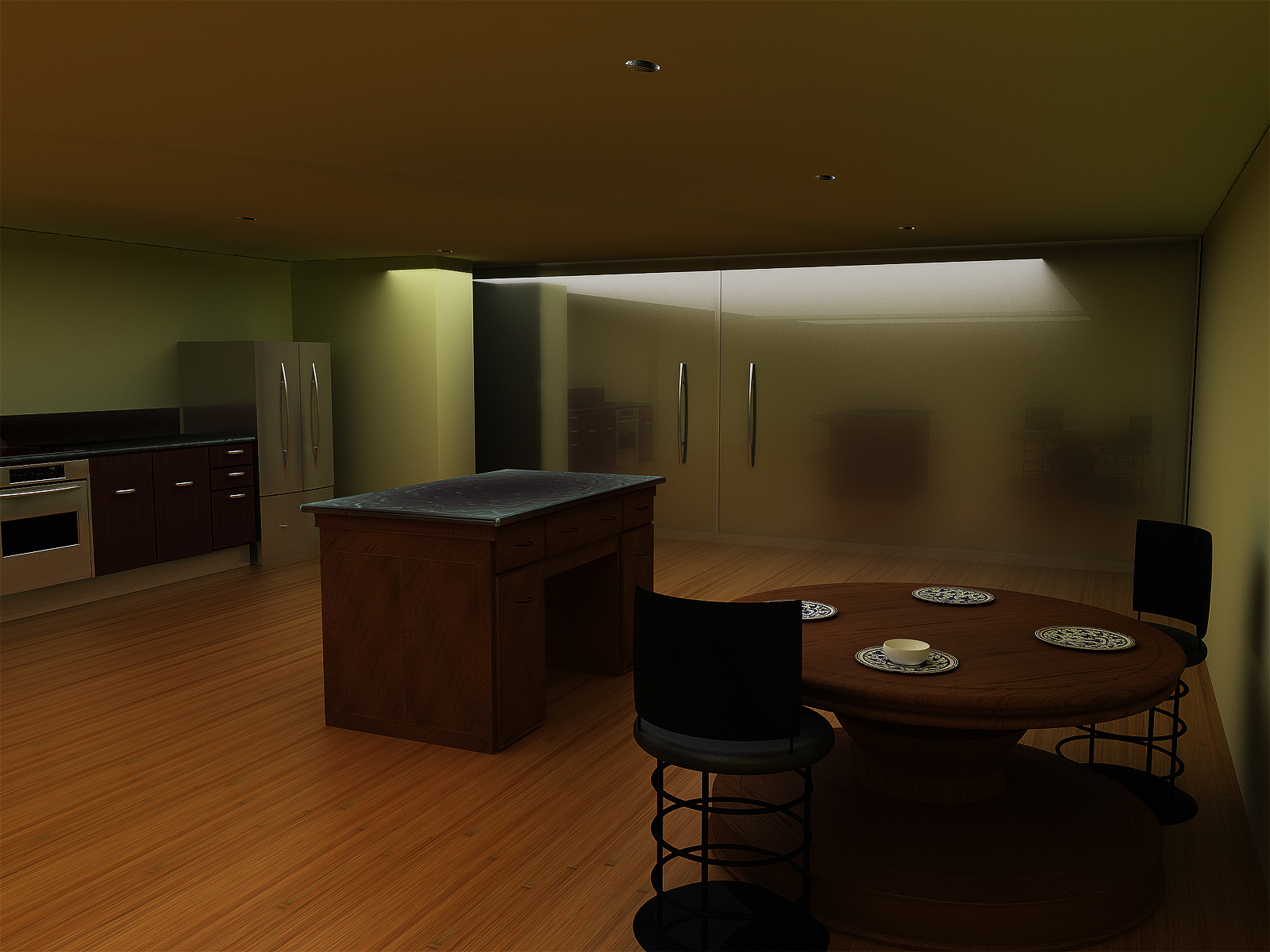 Kitchen and Dining Room V1