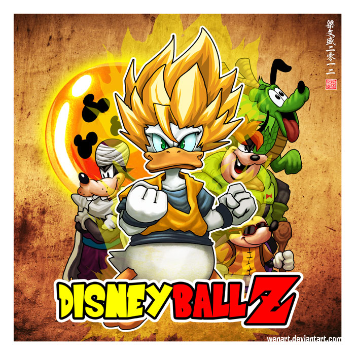 Disney Ball Z