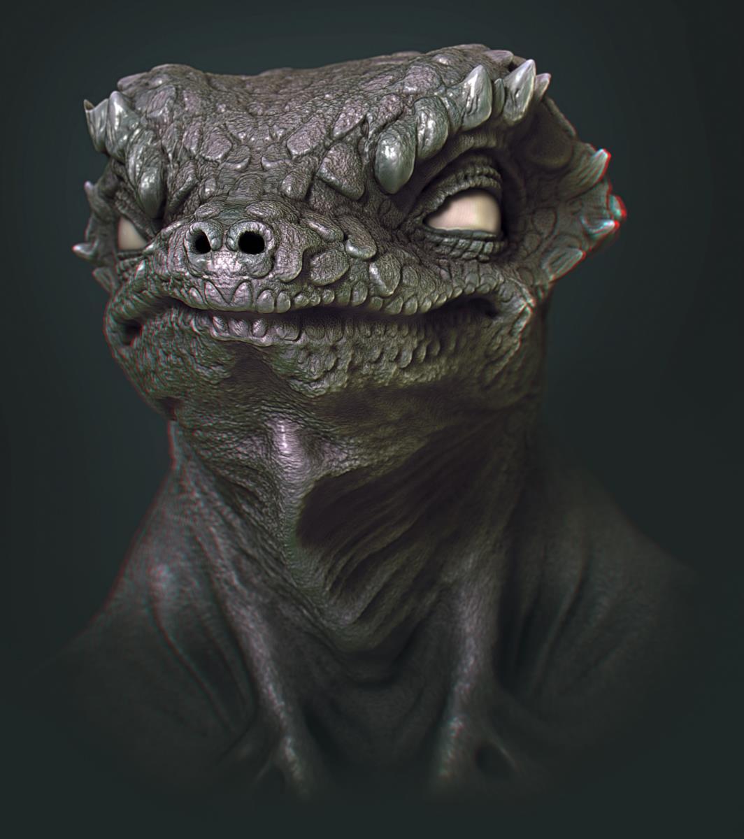Lizard Sculpt