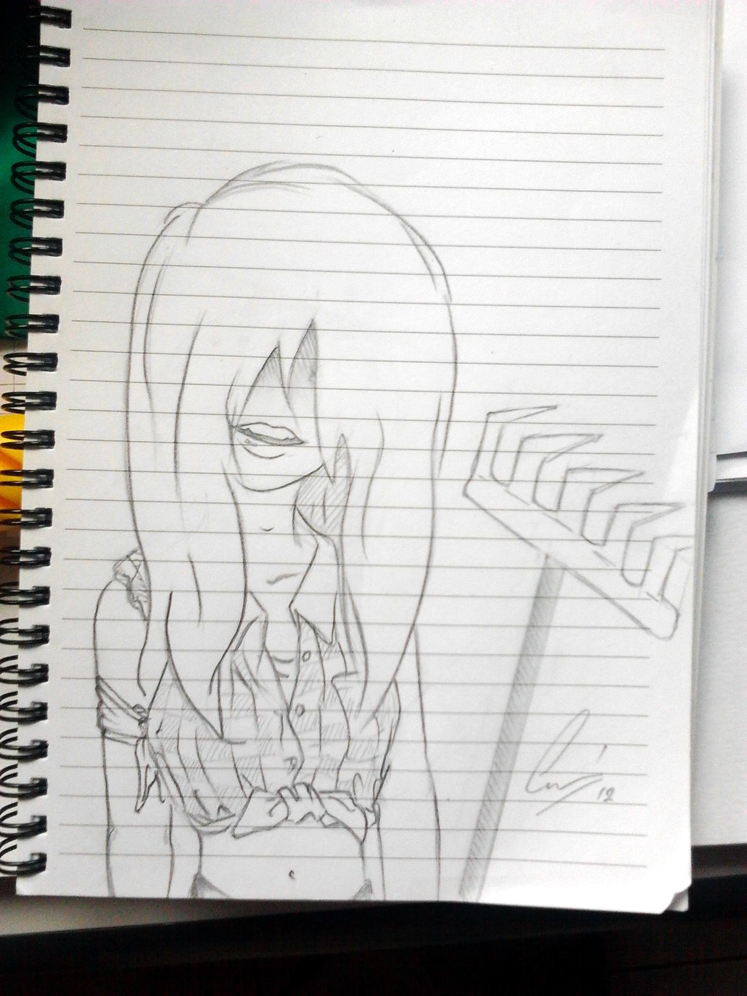 Some Creepy Rake Girl