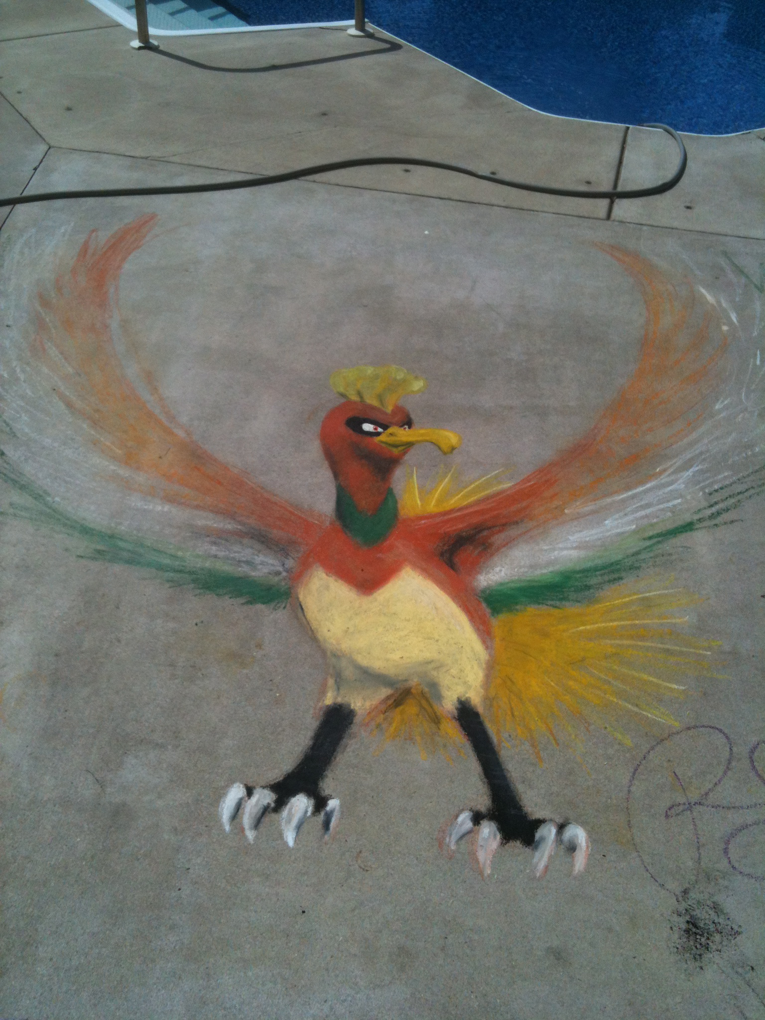 Ho-Oh Poolside