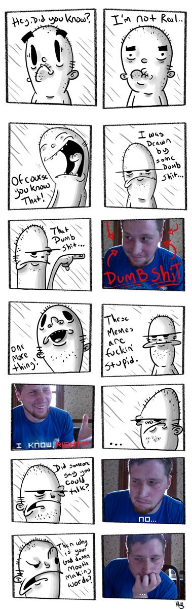My Cartoon and I...