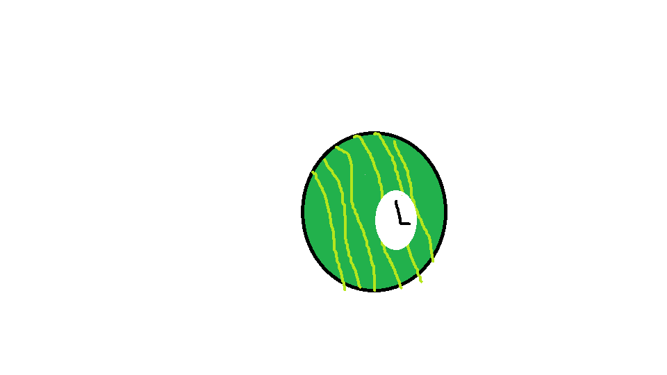 Watermelon Clock