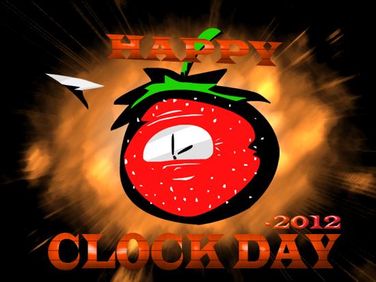 Happy Clock Day 2012