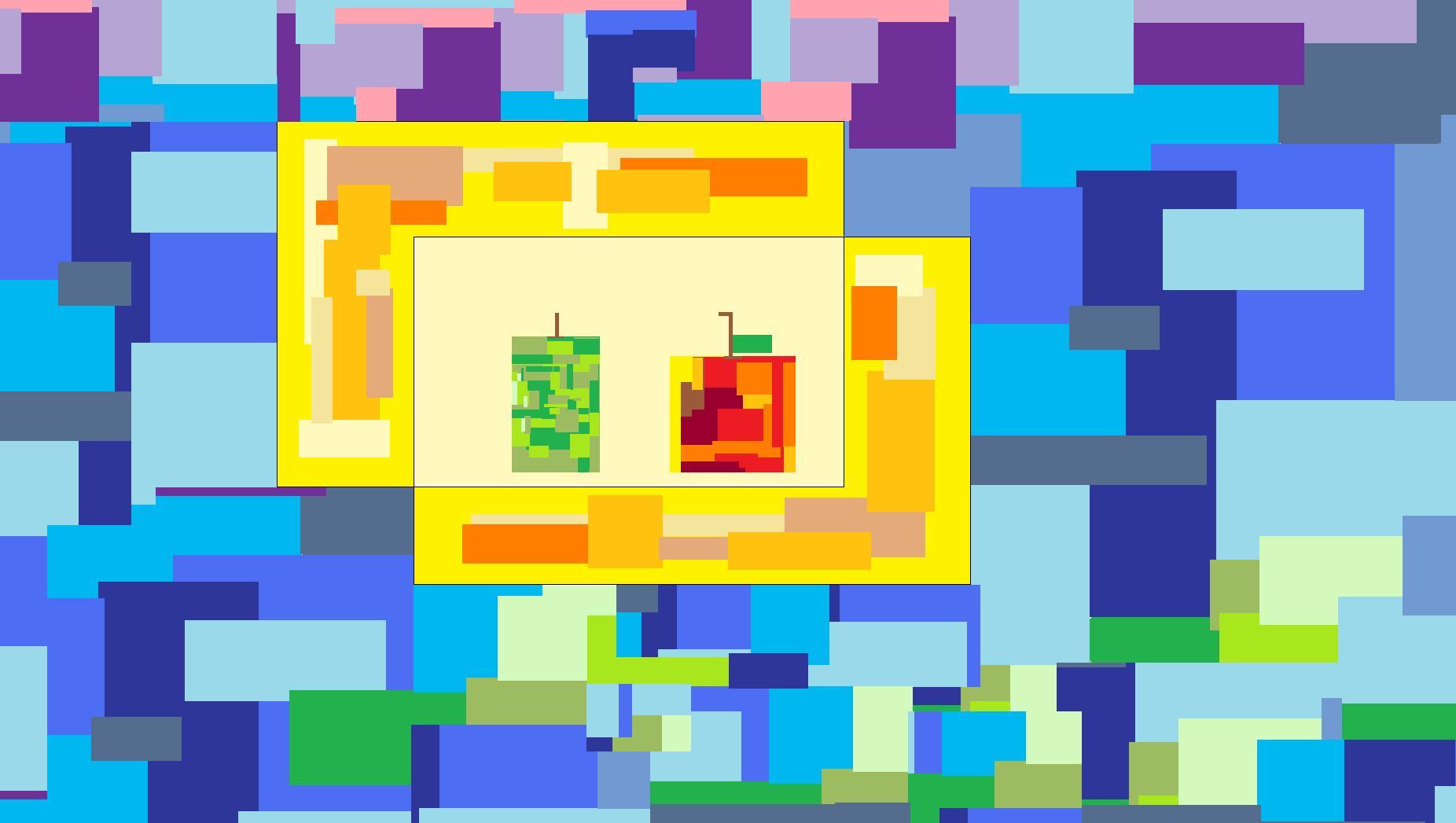 Cubic Fruits
