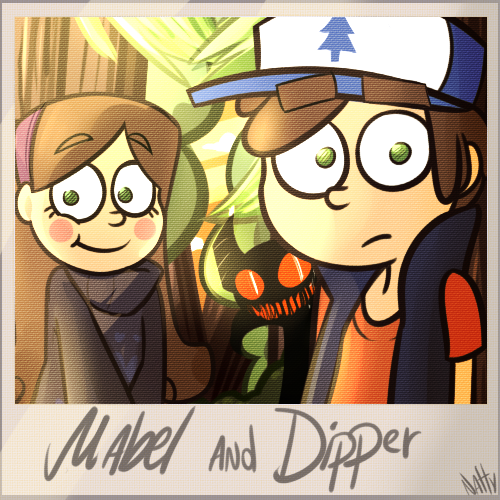 Mabel And Dipper Doodle