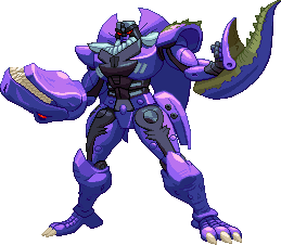 Sf3 Megatron Sprite